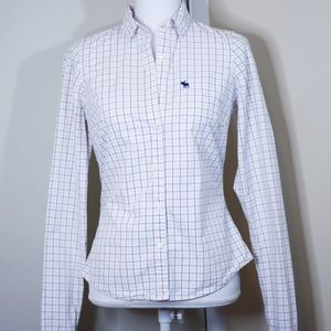 Abercrombie & Fitch 100% Cotton Buttoned Shirt